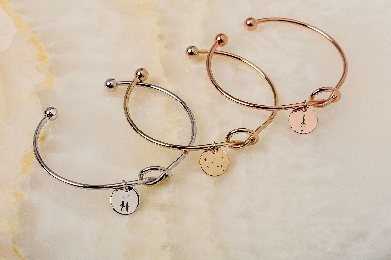 Photo of Personalized Knot Bracelet