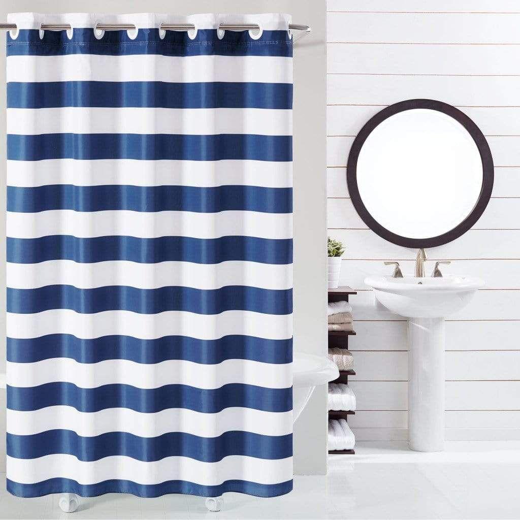 Cabana Stripe Hookless Shower Curtain In 2020 Hookless Shower
