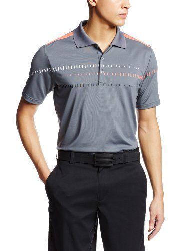 7a7e27465e108 Adidas Golf Mens Puremotion Tour Climacool Digital Print Polo ...