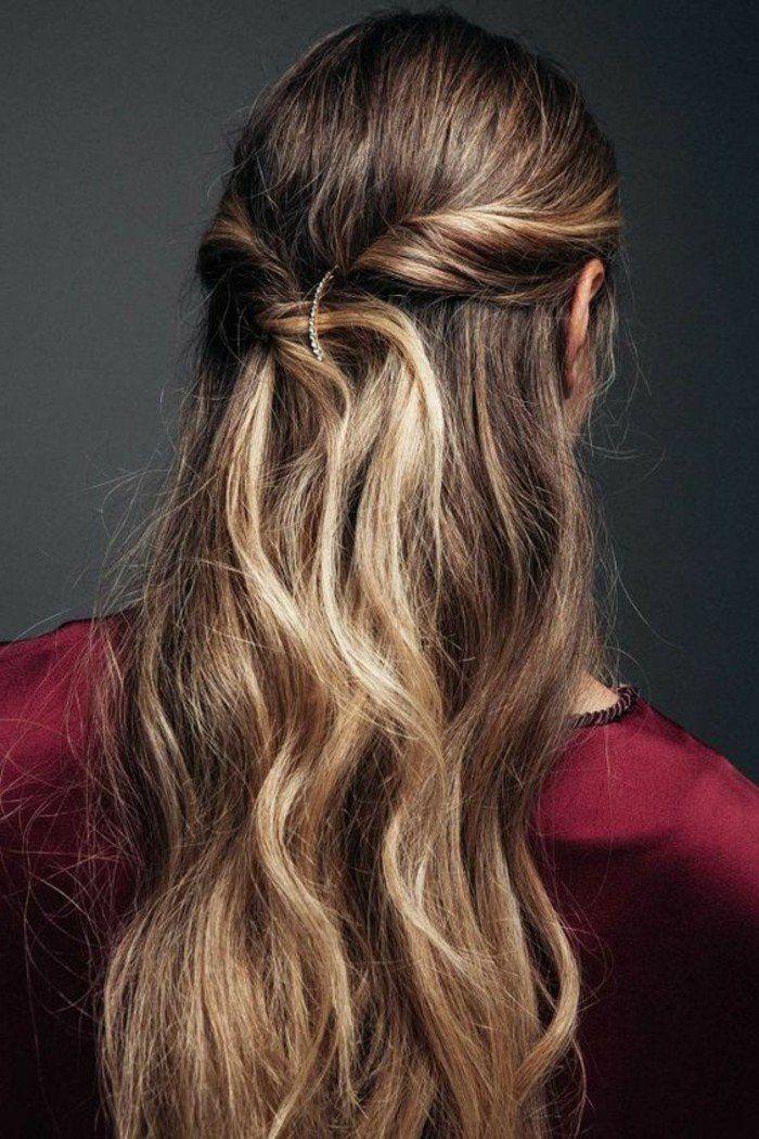 10++ Jolie queue de cheval coiffure inspiration