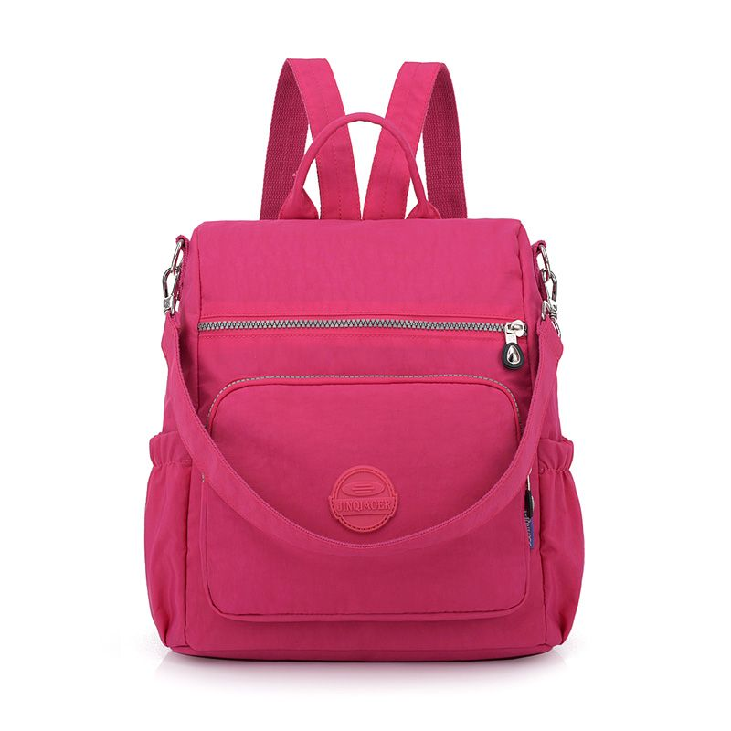8ecf163fb26 Find More Backpacks Information about Fashion Women Nylon Backpack ...