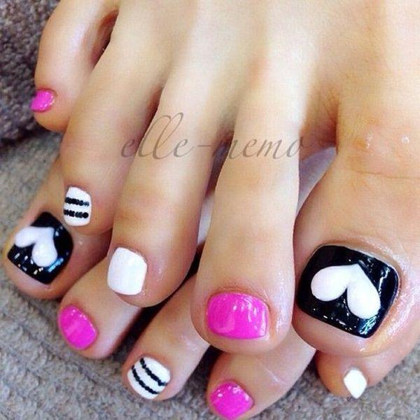 Cute Toe Nail Designs And Ideas Beauty Pinterest Toe Nail
