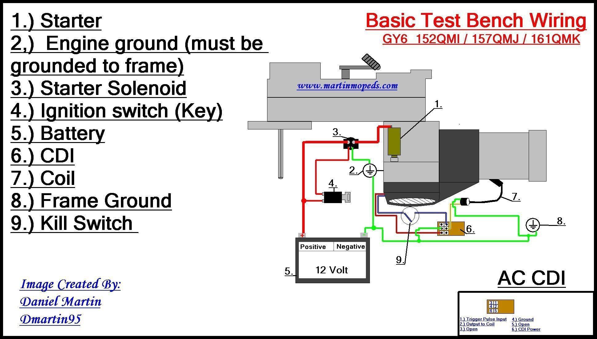 Go Kart Ignition Switch Wiring Diagram