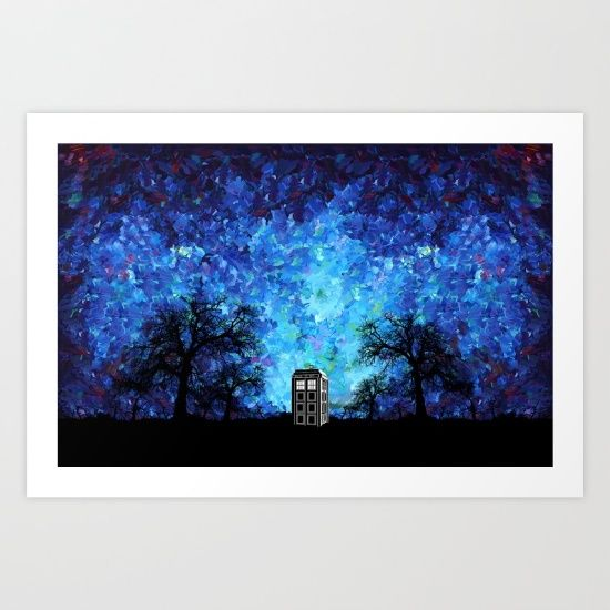 Lonely Tardis Doctor who