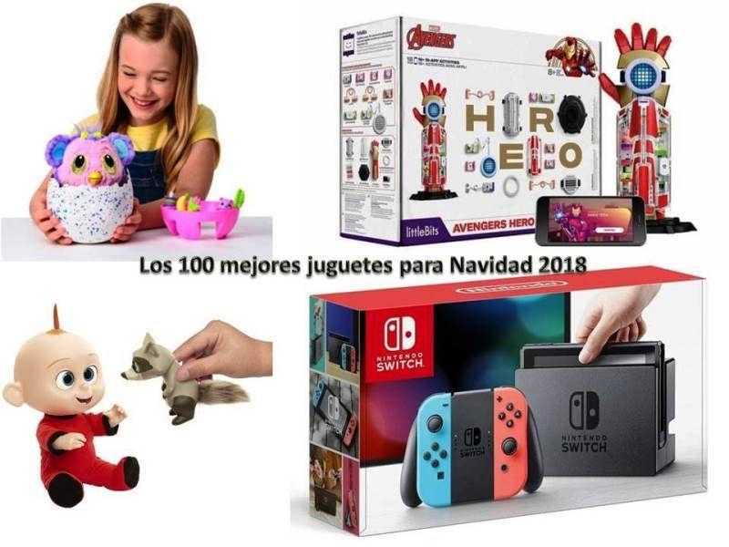 Los 100 Mejores Juguetes Para Navidad 2018 Juguetes Navidad Navidad Niños