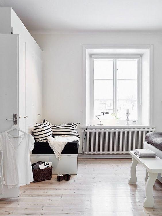 Rincones de lectura ideales #hogar #decoración #vivienda #nórdica