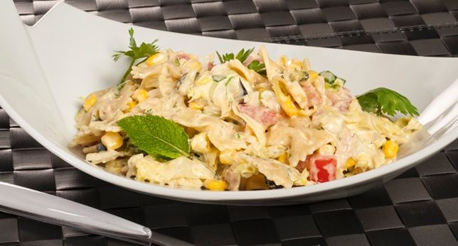 Cocina Con Bruno | Cocina Con Bruno Ensalada De Pasta Y Curry Bruno Oteiza