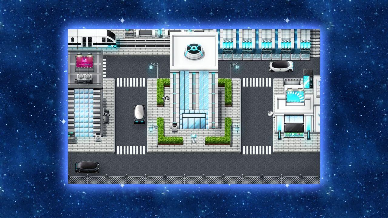RPG Maker VX Ace - Futuristic Tiles Resource Pack | Pixel in