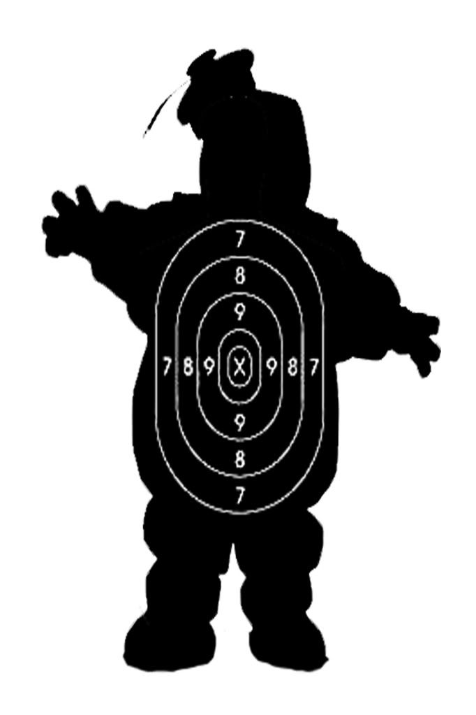 photo about Printable Silhouette Shooting Targets referred to as Least difficult concentration at any time - Printable Capturing Ambitions amusing things