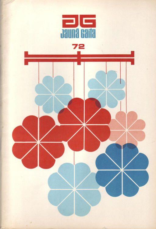 Latvian magazine archive.