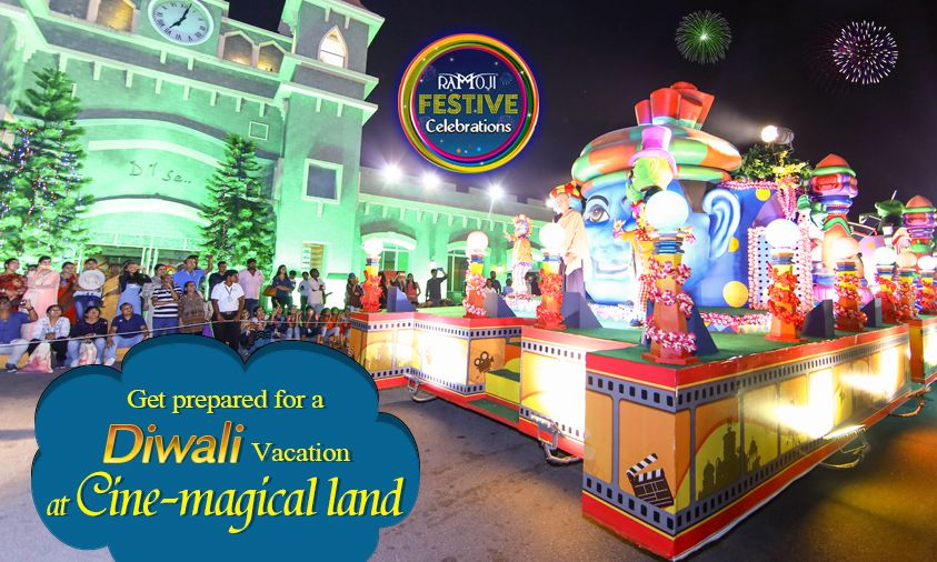 Fascinating Festive Celebrations Is Must To Experience At Ramoji Film City Come Along With Family Friends To Best Amusement Parks Amusement Park Theme Park