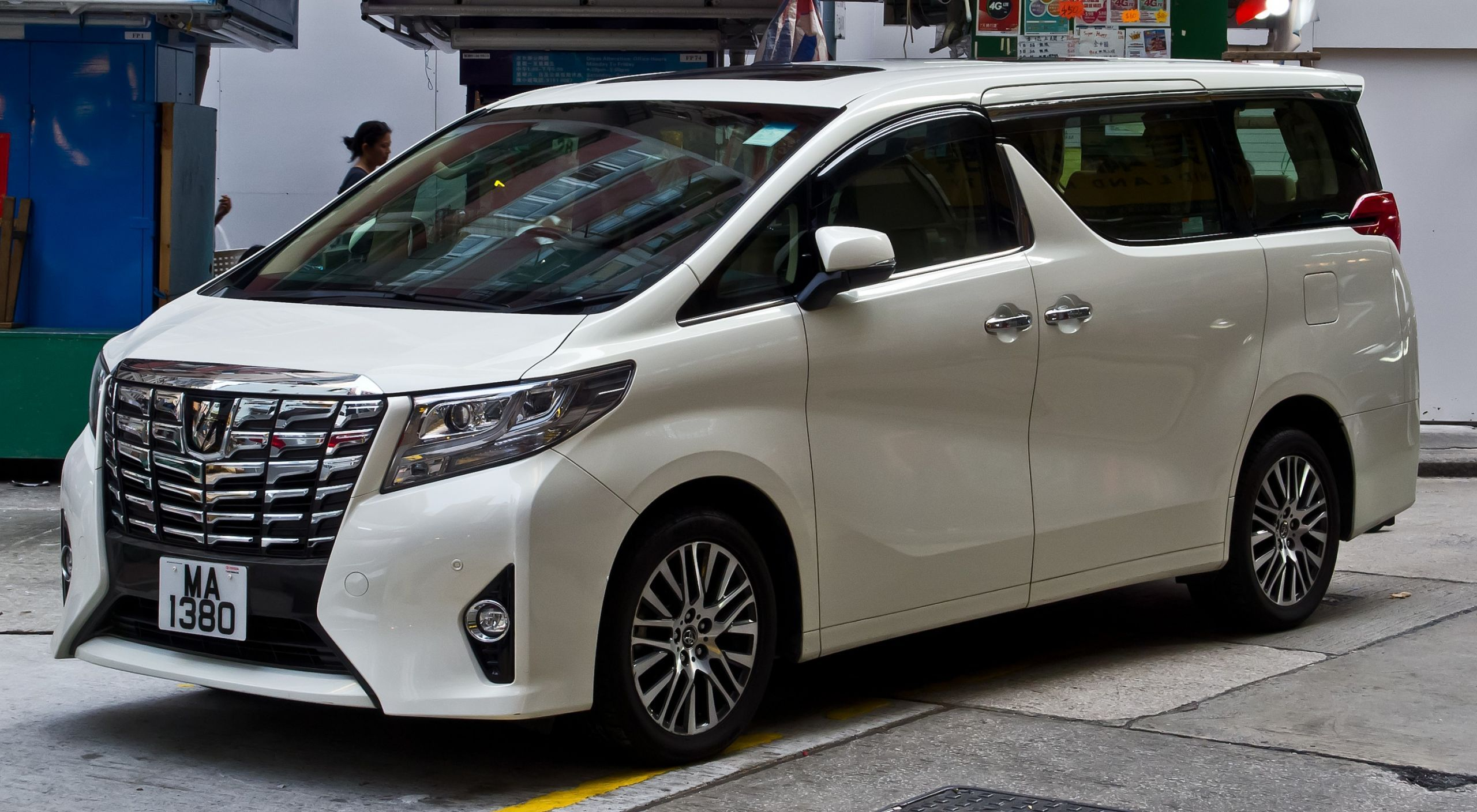 2021 Toyota Alphard Wallpaper