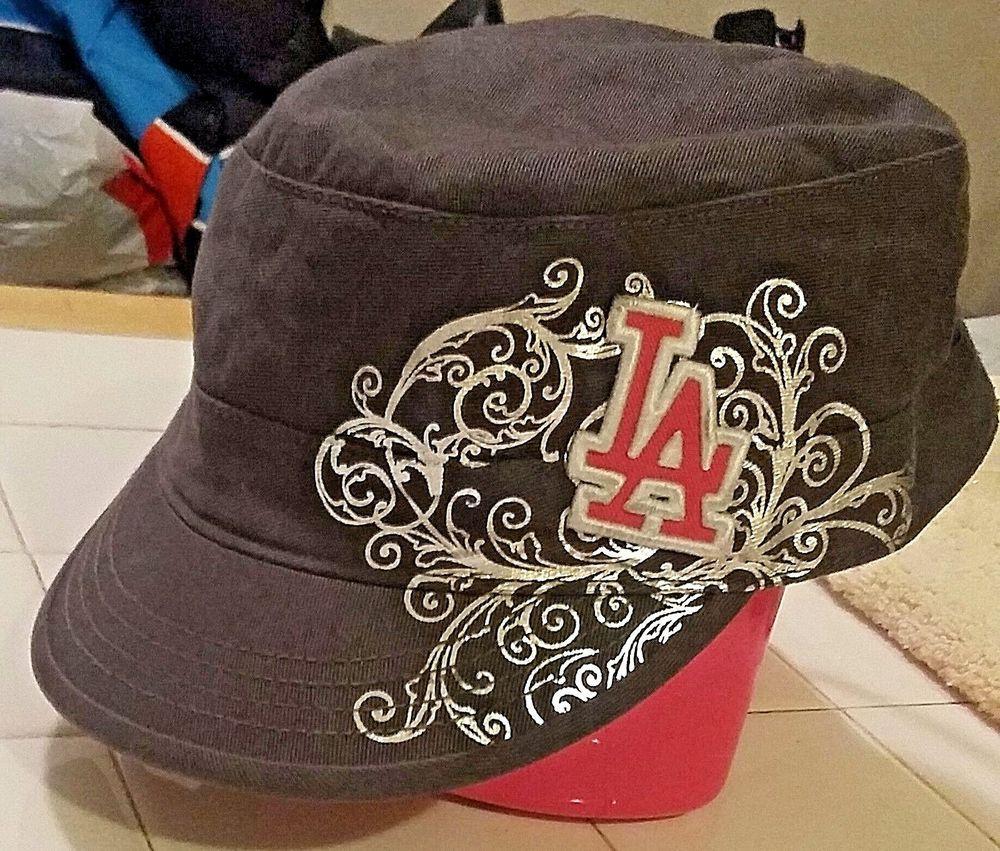 Mlb la dodgers ladies 47 twins adjustable hat nwot