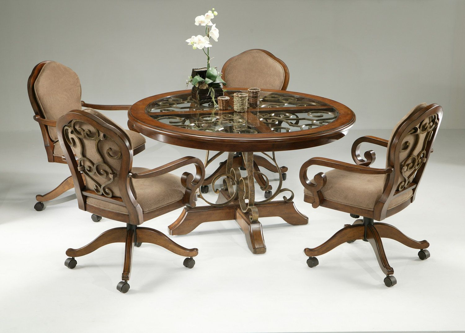 9+ Dining Room Chairs With Wheels   MAGZHOUSE
