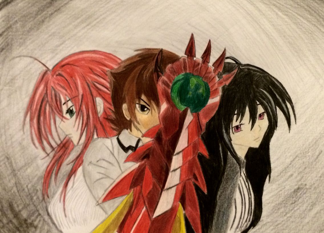 High School dxd Finished August 11 By RussianAnnaB