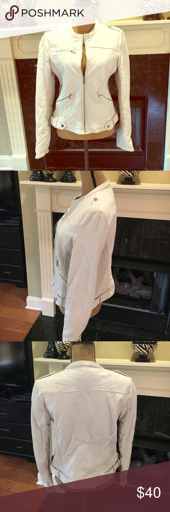 Wilson's Leather jacket! Wilson's Leather jacket. White