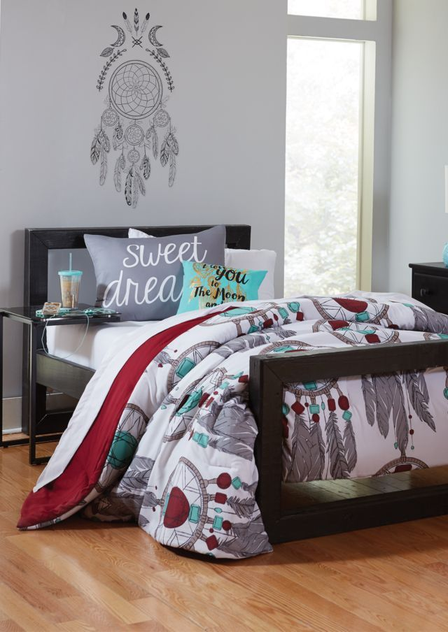 image of full dreamcatcher 3-piece comforter set | feels like home