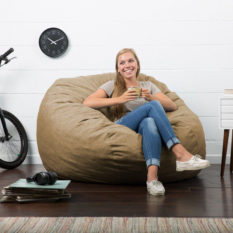 Comfort Research Big Joe Lux Bean Bag Chair | Wayfair.ca
