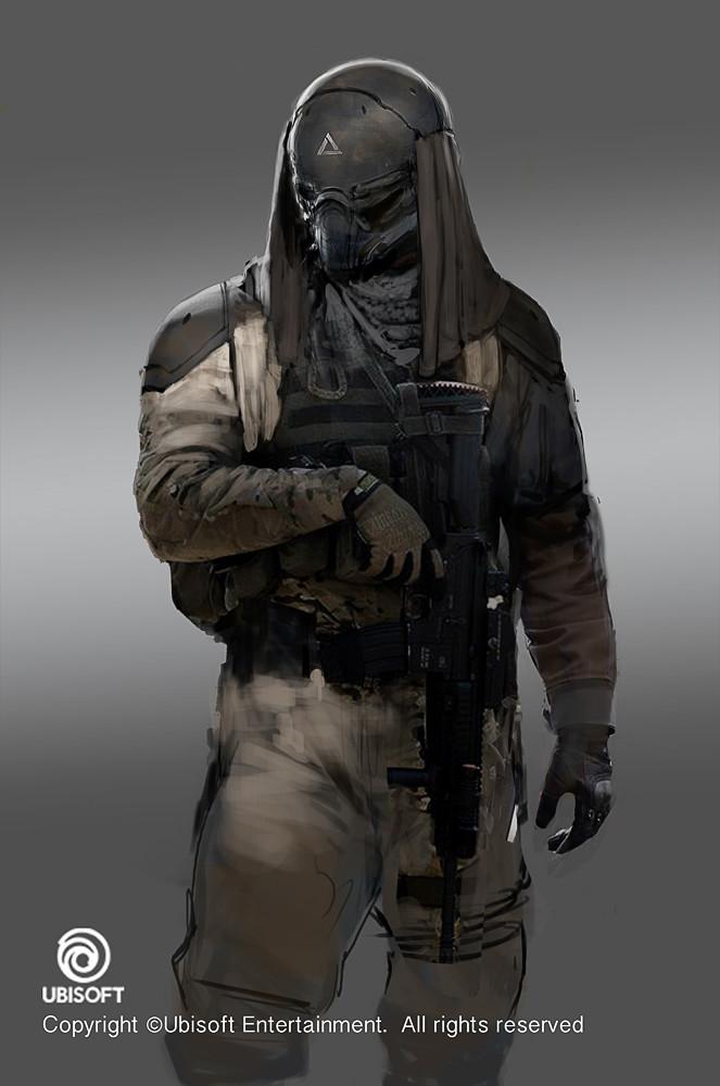 Artstation Assassin S Creed Origins Abstergo Soldier Layla