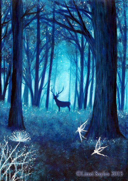 Cute Background Wallpaper For Computer Christmas Lights Animal Hd Magical Forest By Faerysayles Deviantart Com On