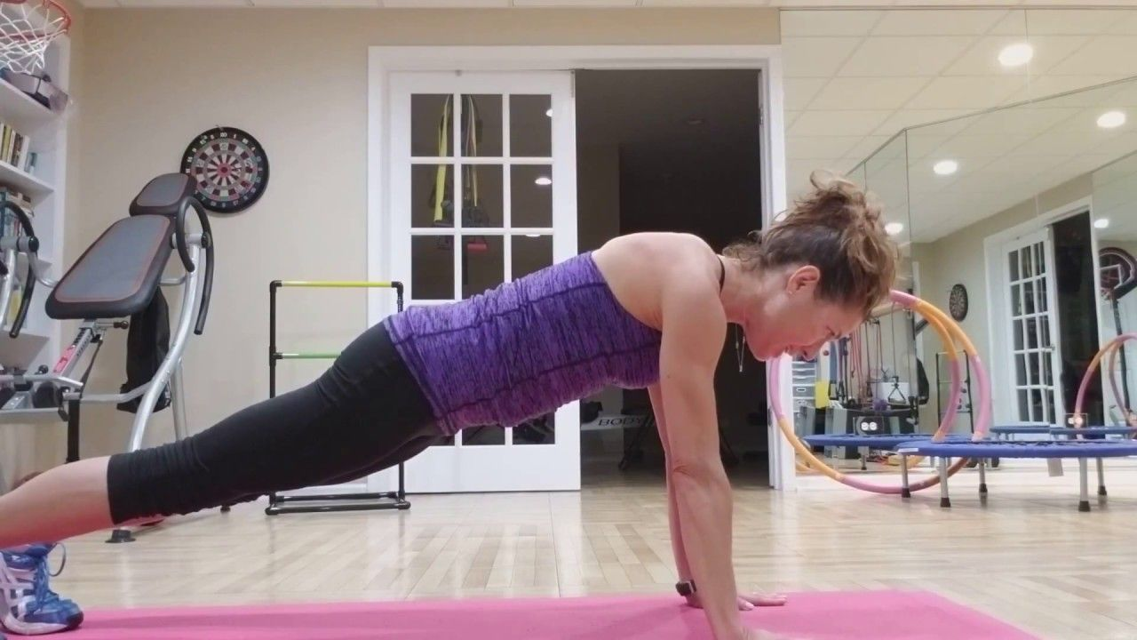 Everybody Fitness Core 4 High Plank Fitness High Plank Ball Exercises