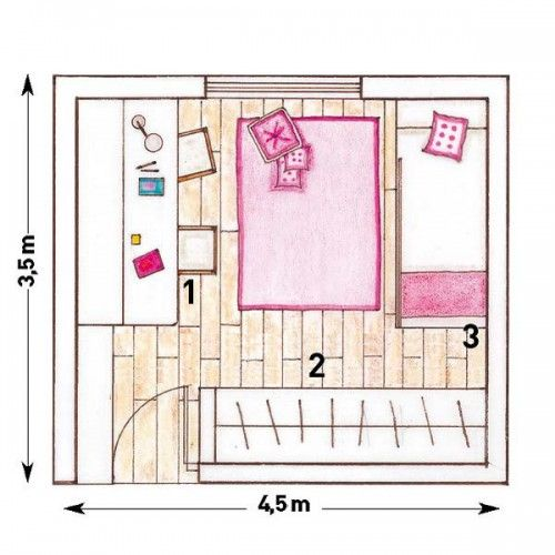 5 Room Designs For Two Girls And Their Layouts Shelterness Small Kids Room Small Room Design Girl Room