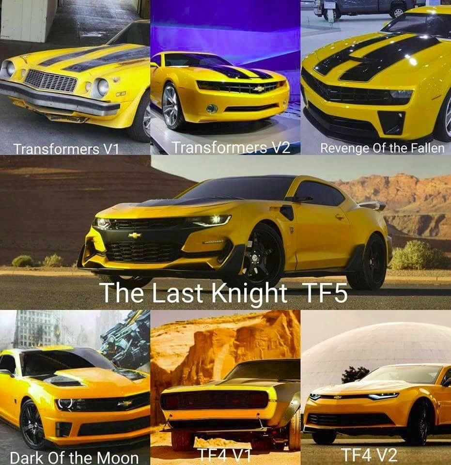 Prediction: Bumblebee Chevrolet Camaro Gone After Transformers 4 ...