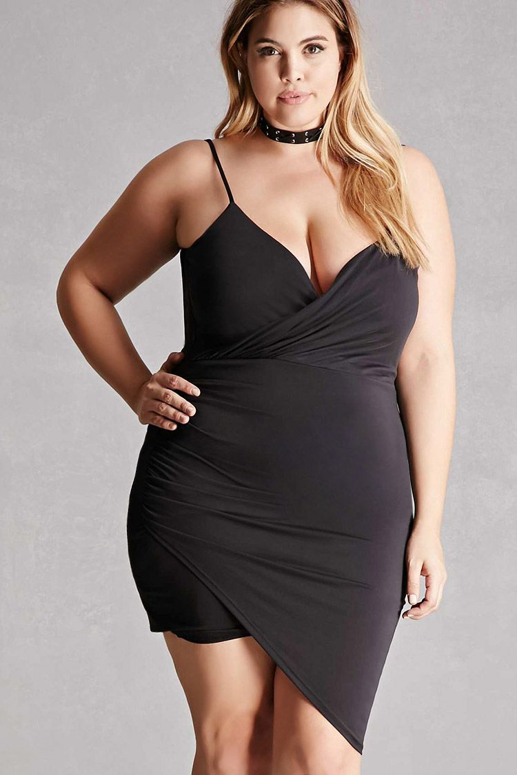 Plus size cowl back dress for my girlfriend pinterest curves
