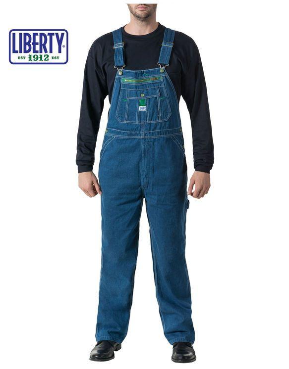liberty stonewashed denim bib overalls work overalls on work coveralls id=75793