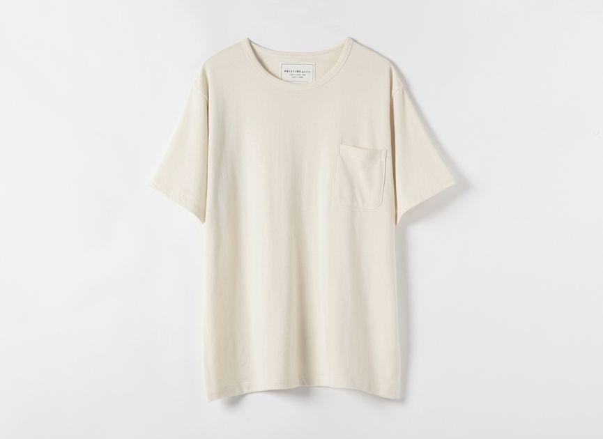 ミニ裏毛 半袖クルーネックTシャツ