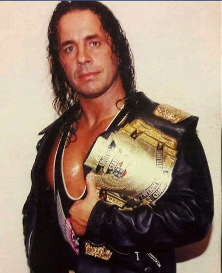 Bret Hart Well Always Be The Best There Is Wcw Professional Wrestling Wwe Legends [ 1133 x 922 Pixel ]
