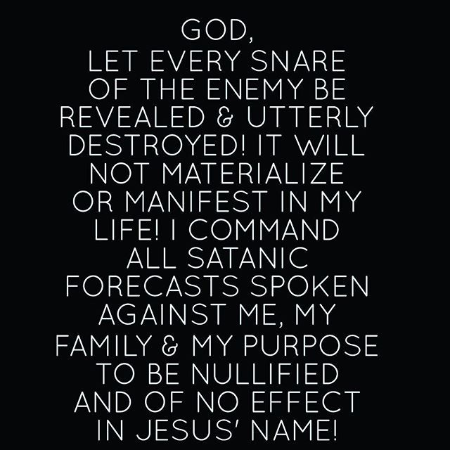 I am praying for you   No weapon formed against you will