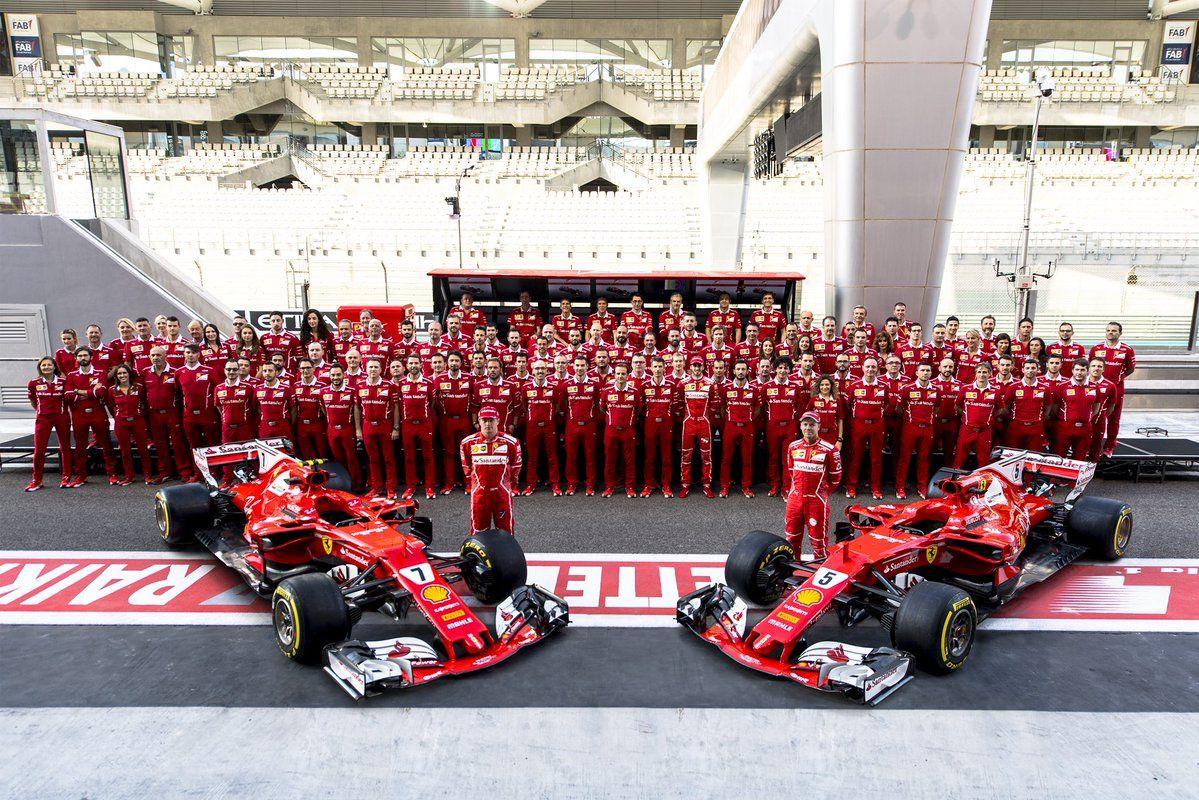 Scuderia Ferrari 2017 Finaliza Campeonato F1 F1 2017 Rennsport Formel 1