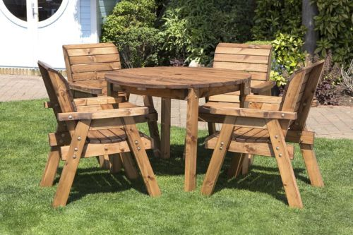 Pin By Aleksandr On Idei Dlya Doma Wooden Garden Table Wooden Garden Furniture Garden Furniture Sets