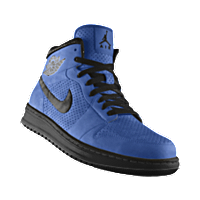 outlet store cac41 1ede6 I designed the university blue Nike Air Jordan Alpha 1 iD basketball shoe  with black trim to support the Buffalo Bulls.