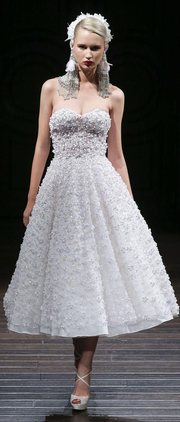 Naeem Khan Wedding Dresses u2013 Fall 2018
