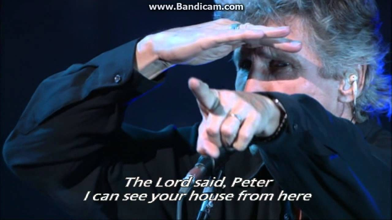 """♫""""It's a miracle"""" - Roger Waters(Live) - Lyrics (With images ..."""