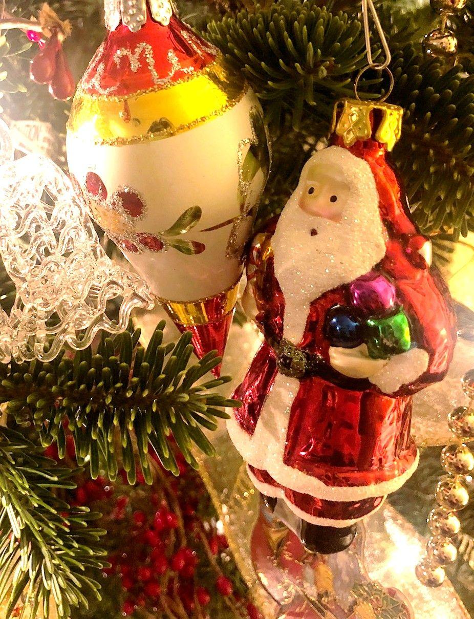 Ornaments Christmas Tree Santa Yule Christmas holidays | Yule ...