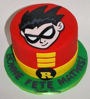 Photo of Pastel de cumpleaños de Robin