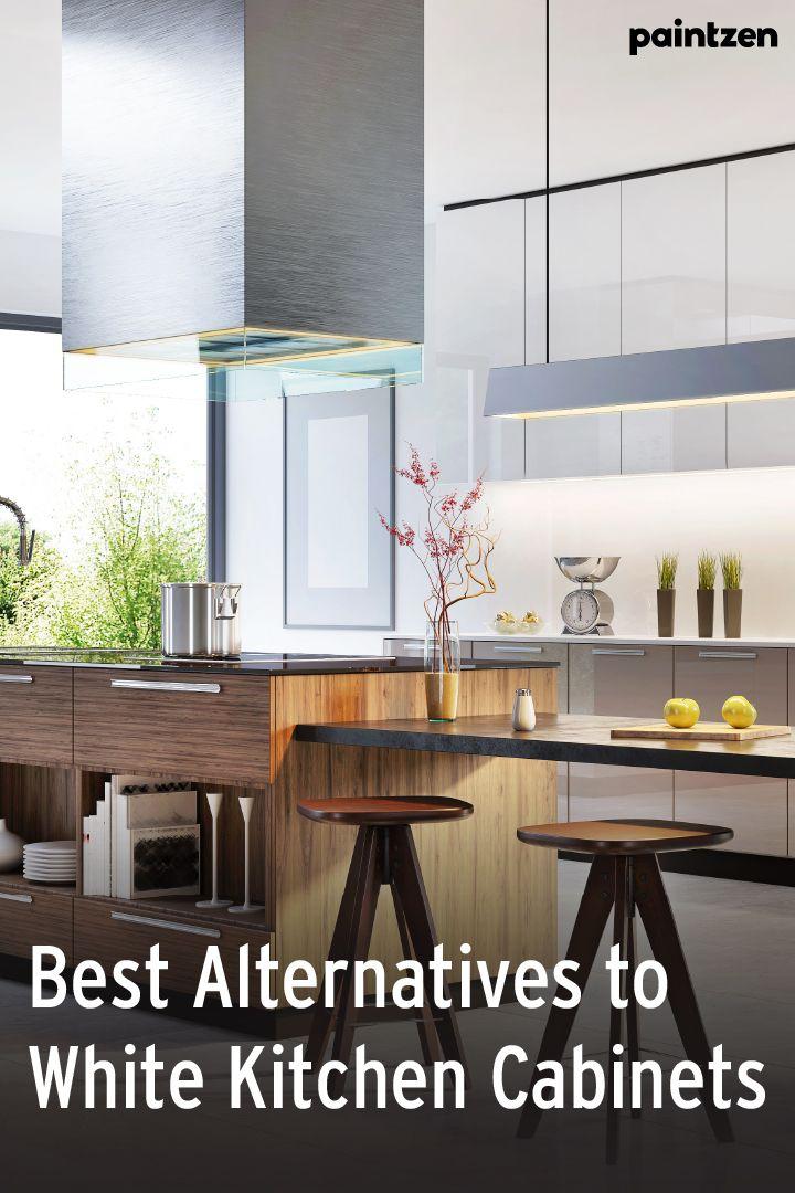 Best Alternatives to White Kitchen Cabinets in 2020 ...