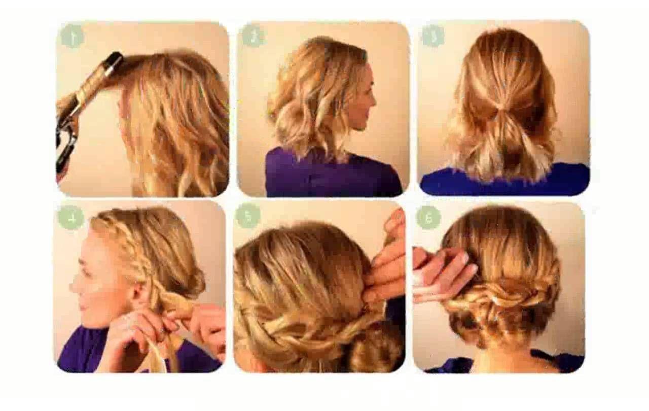 Peinado fácil, para cabello corto