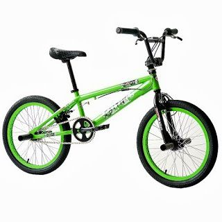 20 Bici Bmx Faith 360º Sistema Rotore Freestyle Verde G 508 Cm