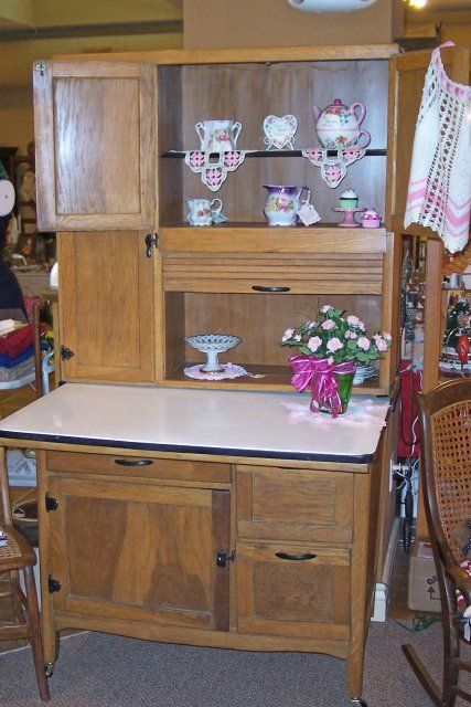 pictures of antiqued kitchen cabinets beautiful oak hoosier cabinet probably made in the 1930 s 7438