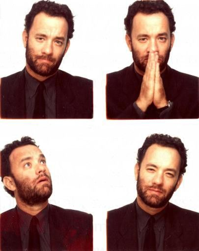 Tom Hanks expressions