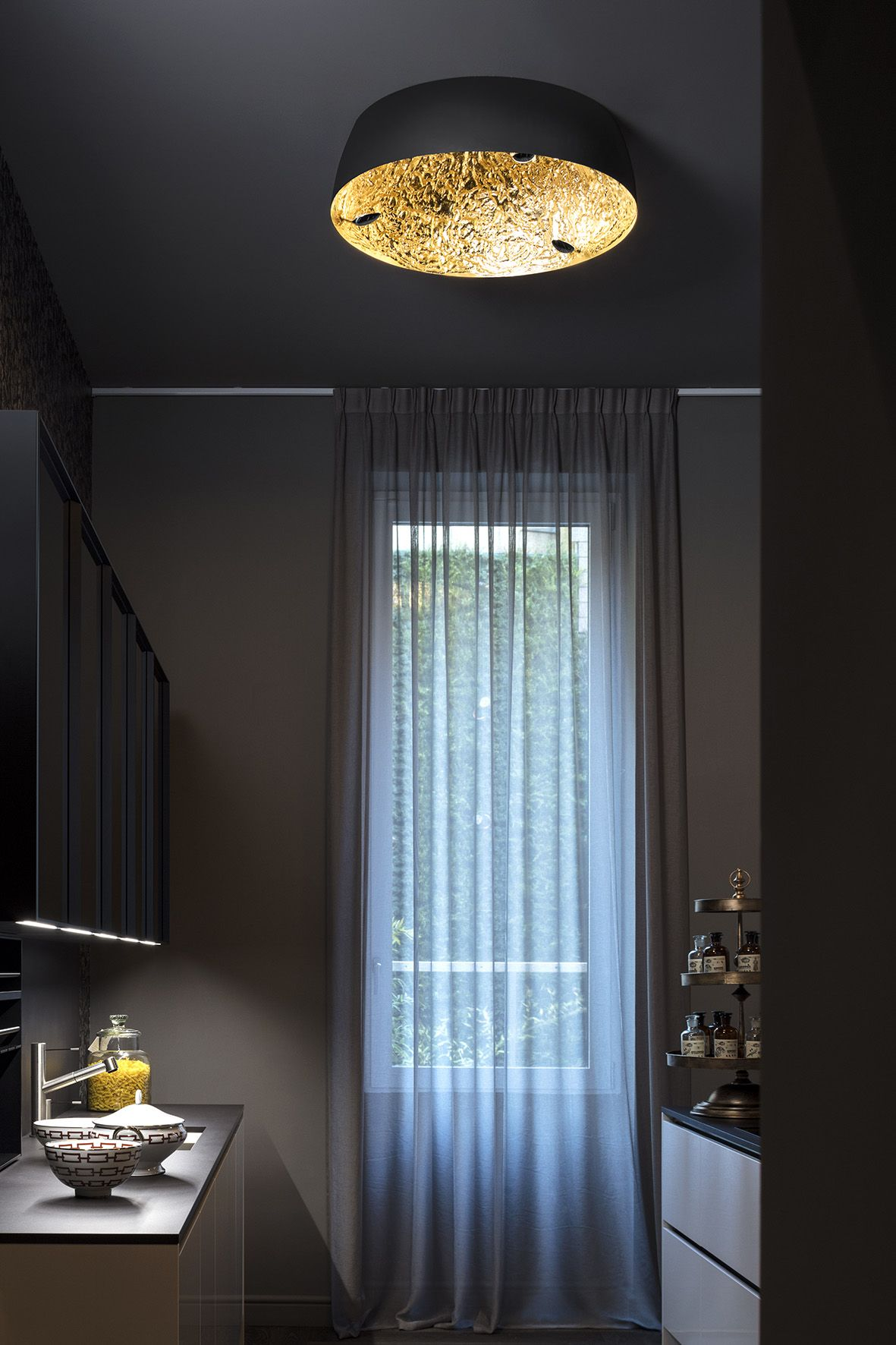 Stchu Moon Ceiling Light By Catellani Smith Distributor For
