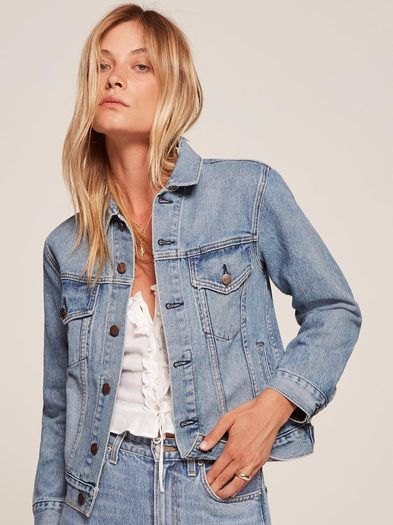 c261446cf7f Introducing Reformation Jeans. This is a hip length