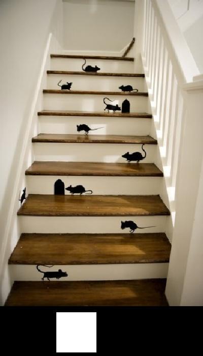 Decoration escalier peinture - Peinture pour marche d escalier ...