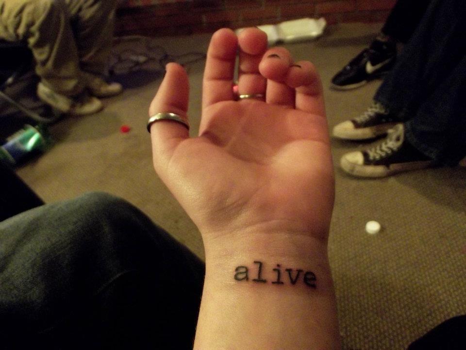 Alive Tattoo Alive Tattoo Tattoo Inspiration Tattoos