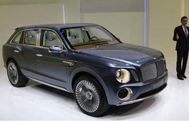 2016 BENTLEY SUV INTERIOR INSPIRATION Bentley EXP 9 SUV Video ...