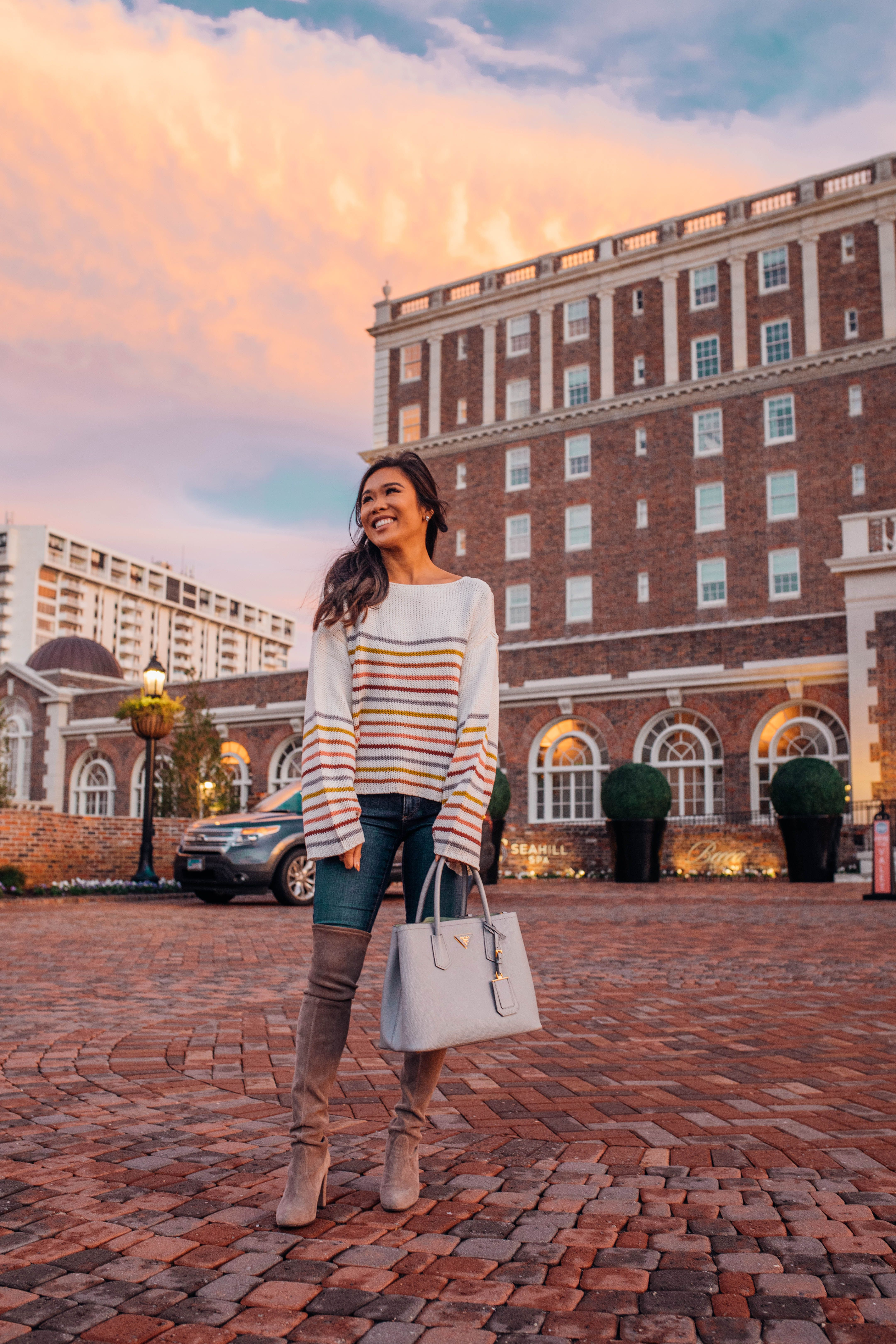 Blogger Hoang-Kim Visits The Historic Cavalier Hotel In